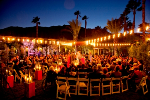 Mike And Mallary Marry At Riviera Hotel Spa Palm Springs