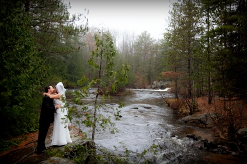 Destination Wedding  Pembine Wisconsin, The Four Seasons Resort